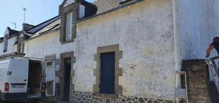 Rénovation de façades Ravalement de façades La Baule-Escoublac ROBIN FACADES - Applicateur Exclusif VERTIKAL Catherine