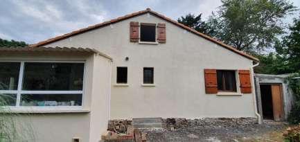 Rénovation de façades Ravalement de façades La Baule-Escoublac ROBIN FACADES - Applicateur Exclusif VERTIKAL beatrice