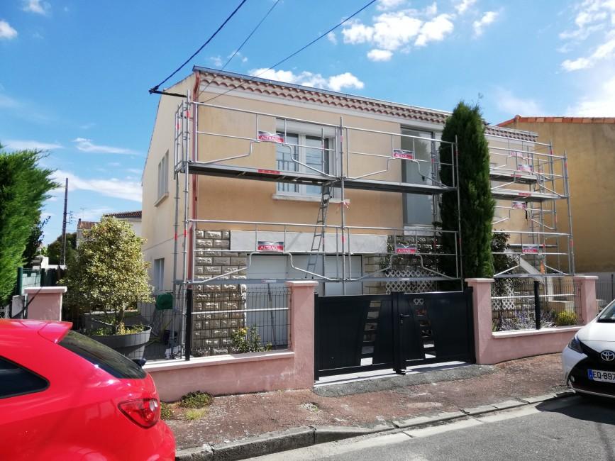 Rénovation de façades Saint-Georges-des-Coteaux PASSION FAÇADES - Applicateur Exclusif VERTIKAL Jean-Philppe
