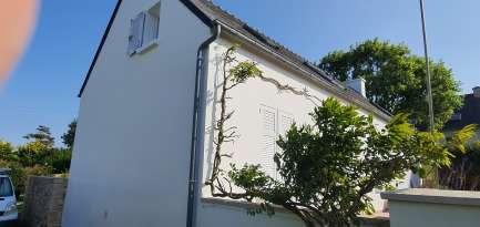 Rénovation de façades Saint-Pabu TALOC FAÇADES & PEINTURE - Applicateur exclusif VERTIKAL® jean-François