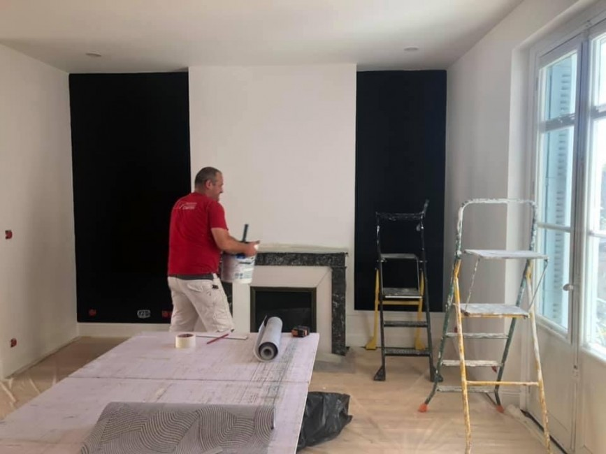 Peinture - Revêtement sol & mural - Pose de staff - Façade - Vitrerie souvigné CHARRON PEINTURES Rico
