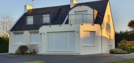 Rénovation de façades Saint-Pabu TALOC FAÇADES & PEINTURE - Applicateur exclusif VERTIKAL® Michel