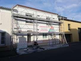 Ravalement de façades Vallet HORIZONS FAÇADES - Applicateur Exclusif VERTIKAL® Etienne